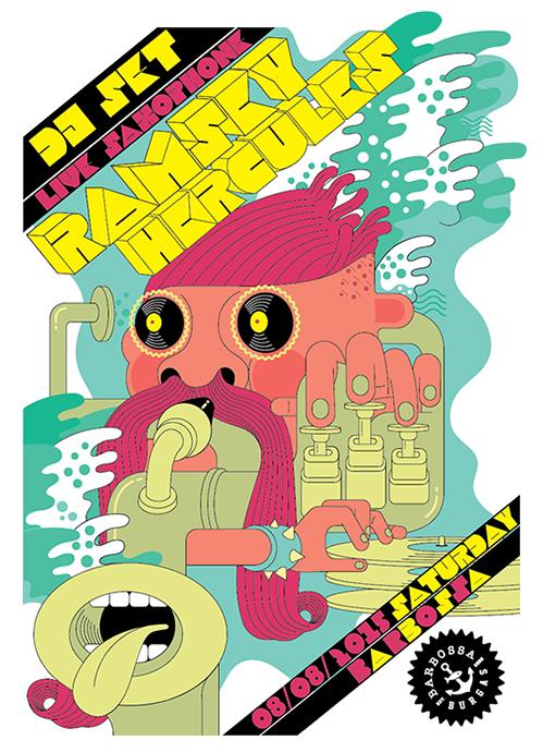 dj Ramsey Hercules poster